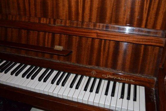 Встречаем настройщика пианино
