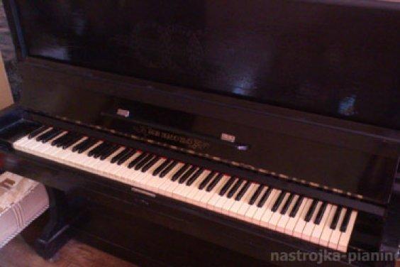 Наше старое пианино «Иваново»