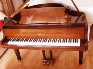 звучание фортепиано