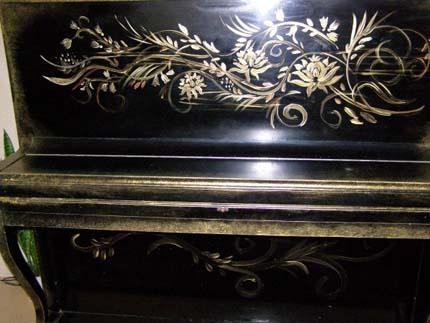 старенькое пианино