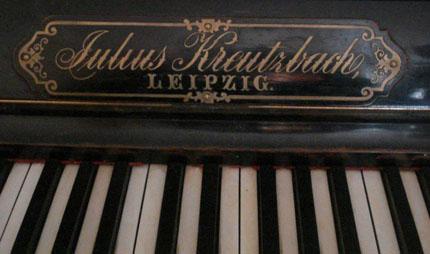 пианино Julius Kreutzbach