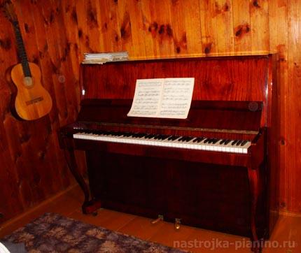 Настройка пианино Сюита