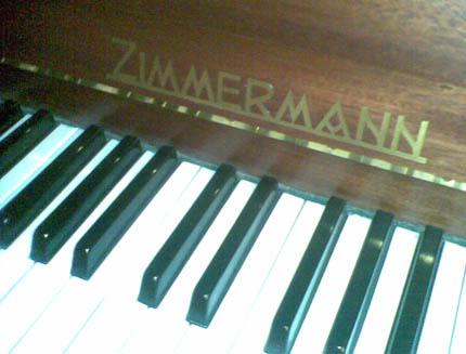 Настройка пианино Zimmermann