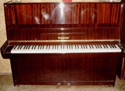 настройка пианино Владимир