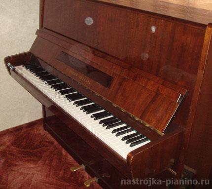 Настройка пианино Красный Октябрь