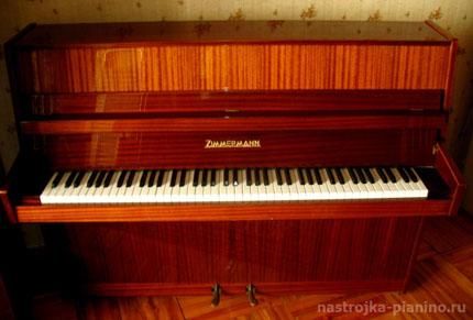Пианино фирмы Zimmermann