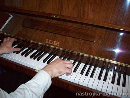 Периодичность настройки пианино